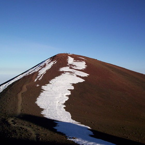 "Mauna Loa means ""long mountain"" and is the largest volcano"