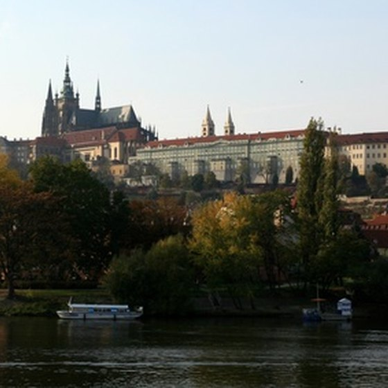 Prague Castle is the artistic subject of many photographs, postcards, and paintings.