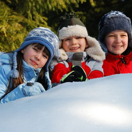 Copper Mountain Ski Resort offers a variety of ski lessons for children.