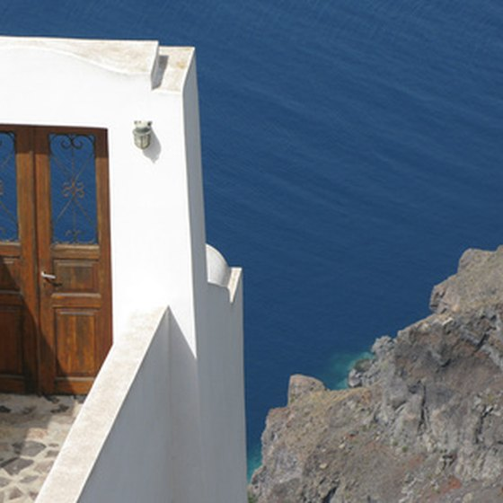 Santorini attracts tourists and archeologists with its natural beauty