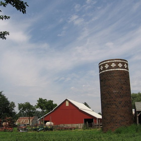 Educational tours can teach students about life on a farm.