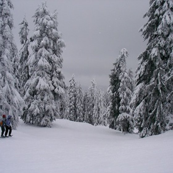 The ski in, ski out resorts of Colorado provide direct access to the slopes.