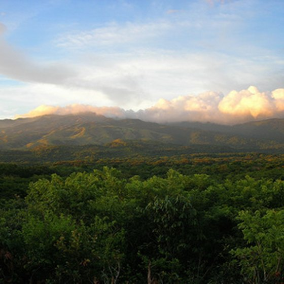 Romantic views abound in Costa Rica, an ideal honeymoon destination.