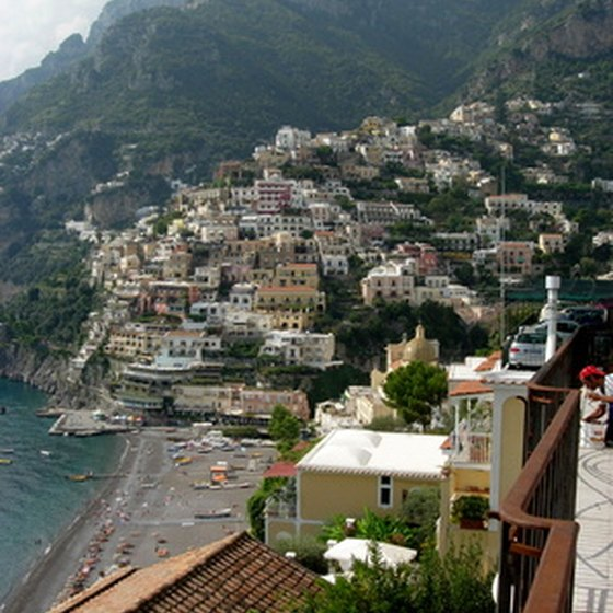 Positano is built into Italy's cliffs.