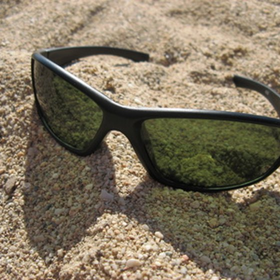 A pair of UV-protected sunglasses are essential for any Mediterranean cruise.