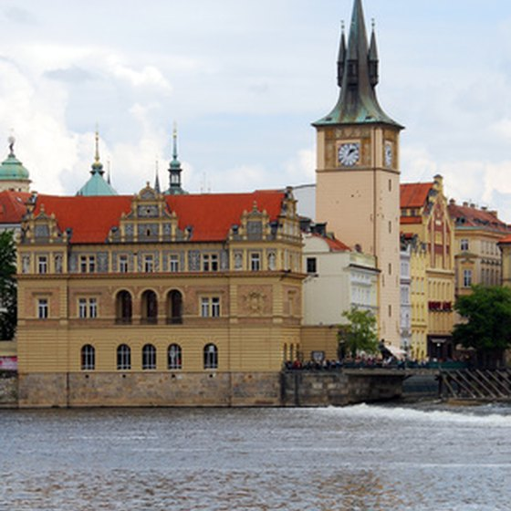 "Prague is called ""the city of a hundred spires."""
