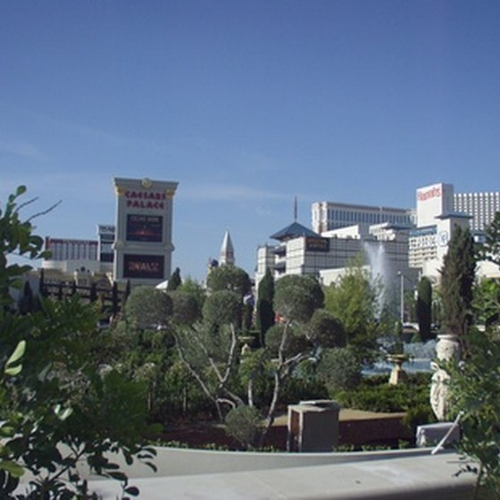 Las Vegas, Nevada, is a year-round destination for tourists.