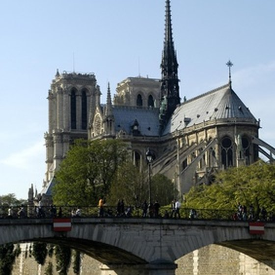 Notre Dame Cathedral is a cornerstone of tours of Paris' Latin Quarter.