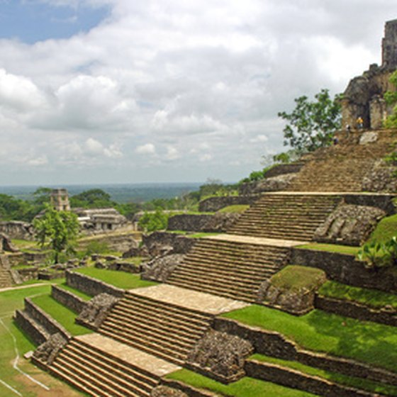 Palenque is one of Mexico's most famous Mayan sites