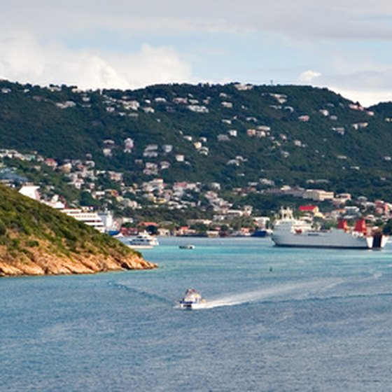 Many cruises from the east coast visit St. Thomas, US Virgin Islands.