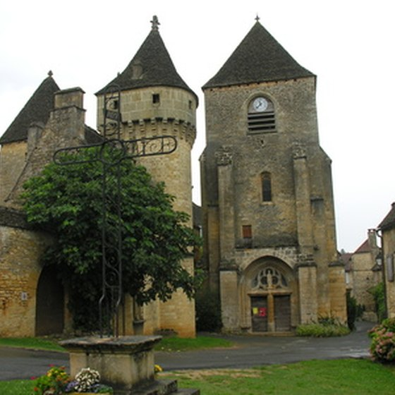 One of many castles in Dordogne, France