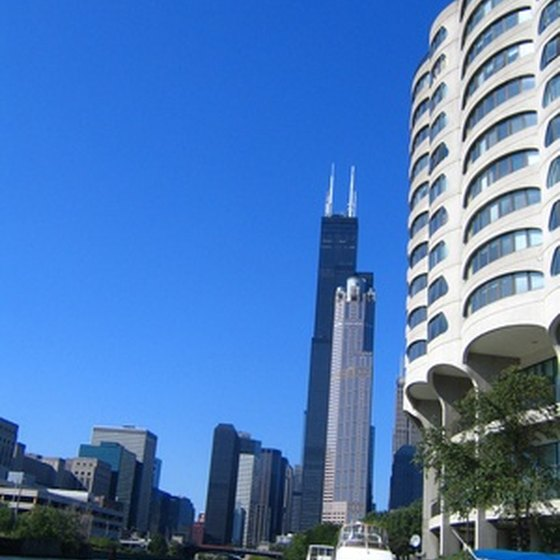 Downtown Chicago features numerous free attractions