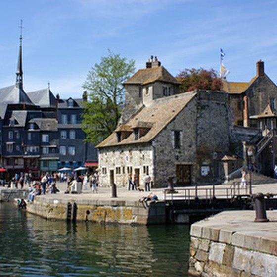 Honfleur is one of Normandy's most scenic coastal towns.
