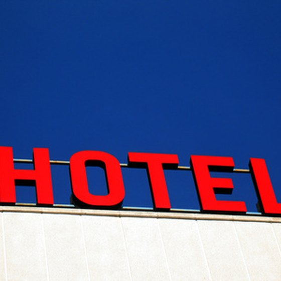 Many hotels are available in the Cleveland area.