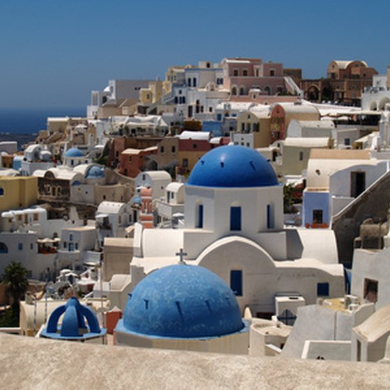 All four seasons offer enjoyable opportunities for visitors to Santorini, Greece.