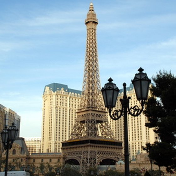 Las Vegas is home to many replicas of world-famous landmarks.