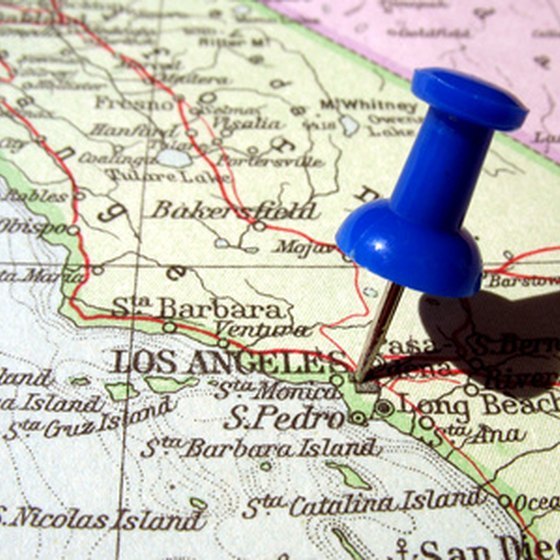 Tourist Attractions in Los Angeles California – Tourist Attractions Map In Los Angeles Ca