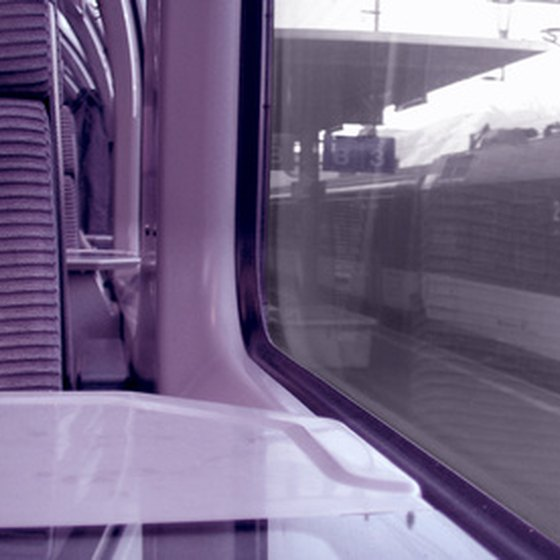 Travel in comfort by train in Italy.