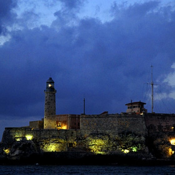 The 16th century citadel El Morro sits at the northwestern tip of San Juan.