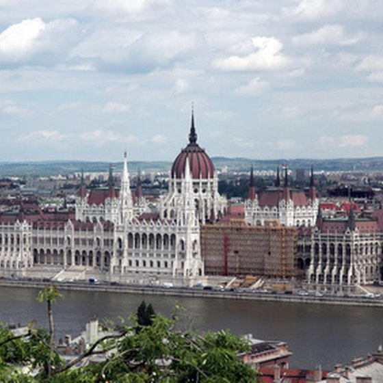 Central Budapest