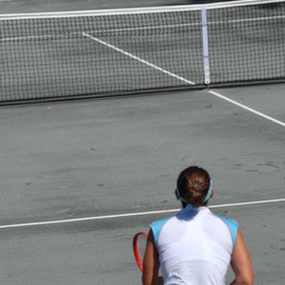 Tennis can be a year-round sport in South Florida.