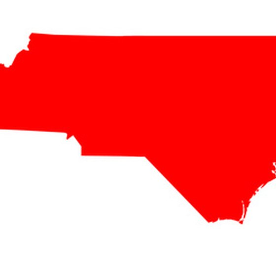 North Carolina is a large state with both mountains and beaches.