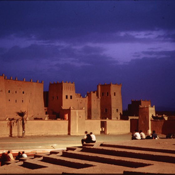 Heat encompasses the southern and central regions of Morocco during the summer.