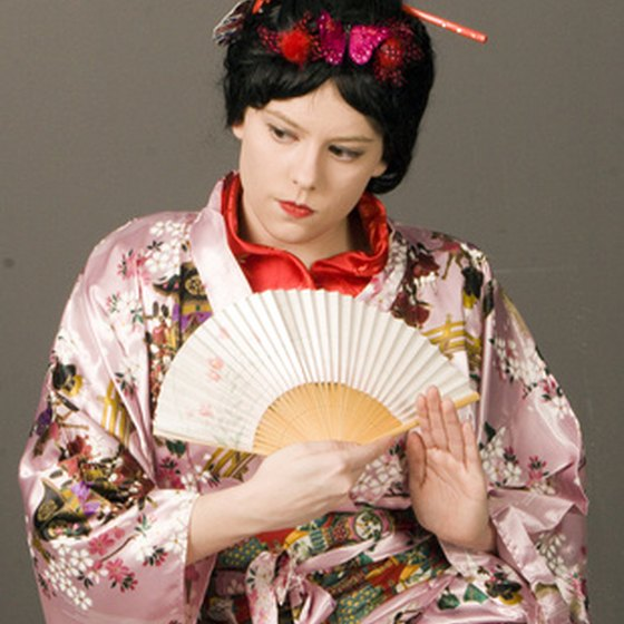 The Kimono has withstood many changes in Japanese fashion