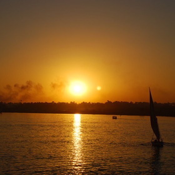 A Nile River cruise generally spans from Luxor to Aswan.