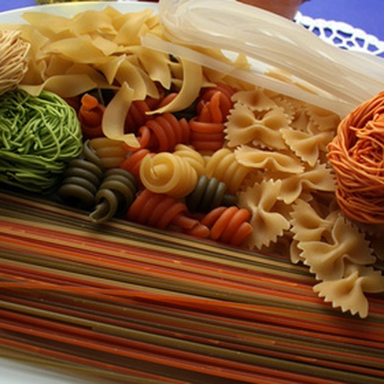 Pasta is one of Italy's most famous food products