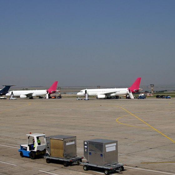 Philadelphia International Airport has 17,000 parking spaces for travelers passing through the airport.