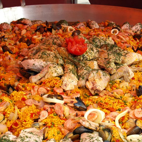 Paella is a signature dish in southern Spain