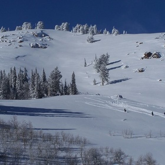 Utah boasts plenty of ski trails.