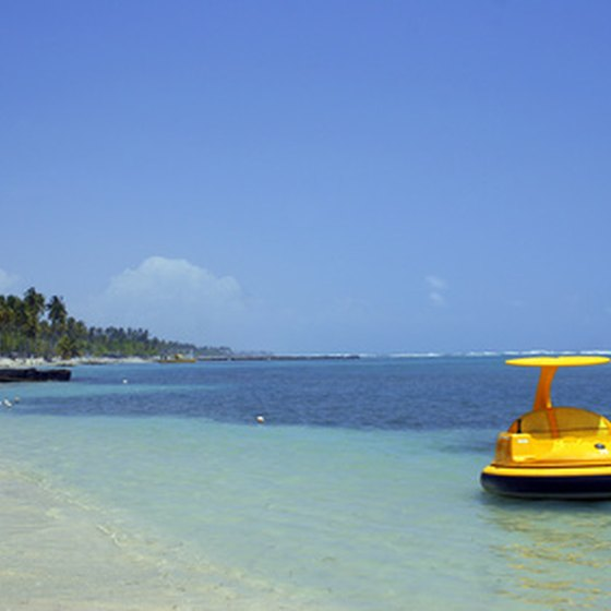 The Dominican Republic offers sparkling waters and white sand beaches.