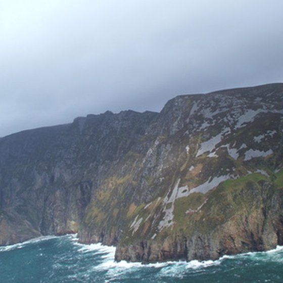 Donegal's sea cliffs are among Europe's highest.