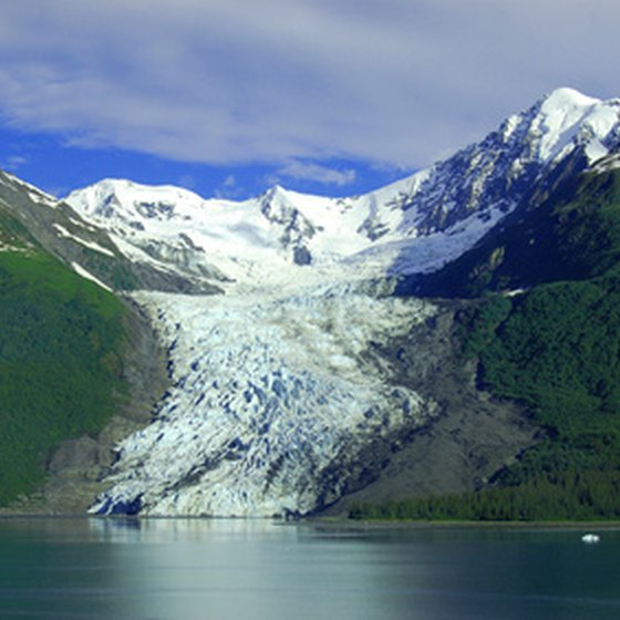 Educational cruises can provide information on Alaska's glaciers.