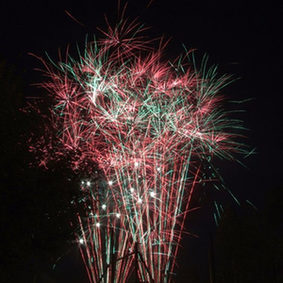Knoxville is home to the largest display of Labor Day fireworks.