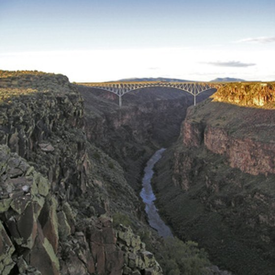 The Rio Grande Gorge is in the Taos area.