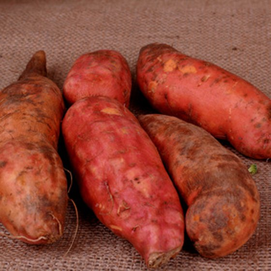 Sweet potatoes are traditional produce of Tanzania.