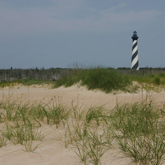Cape Hatteras Lighthouse, Outer Banks, North Carolina.