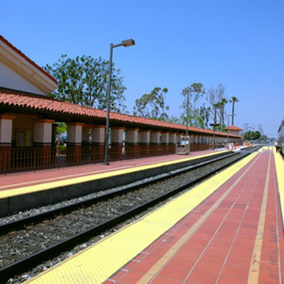 Train travel is a safe, comfortable and environmentally friendly option.