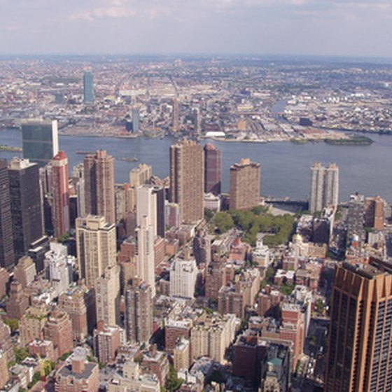 New York City boasts a few of New York State's major attractions.
