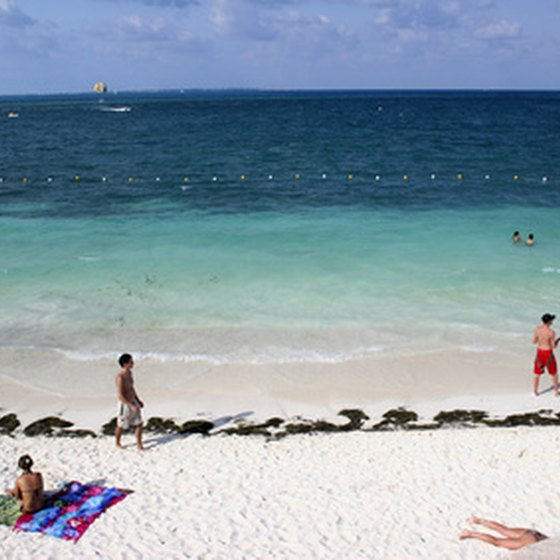 A beach on the Mayan Riviera