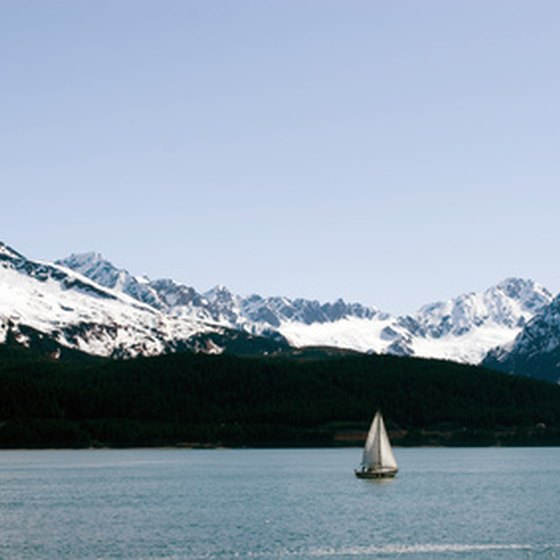 You may sail past glaciers as high as 2,000 feet in some areas.