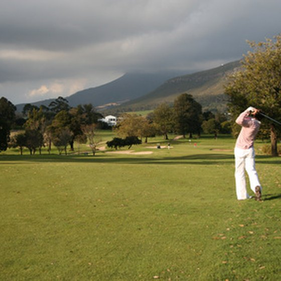Golf enthursiasts flock to Naples because of their year-round golf courses.