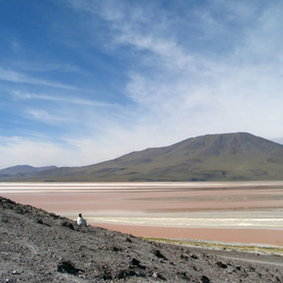 The deserts of Peru indicate the varied climate of the continent.