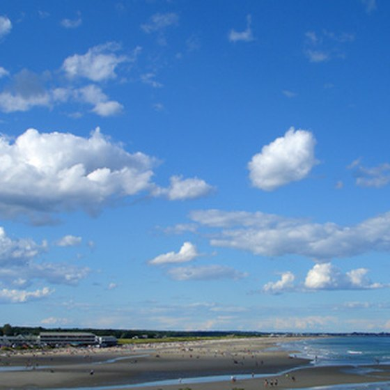 A view of the ocean in Ogunquit