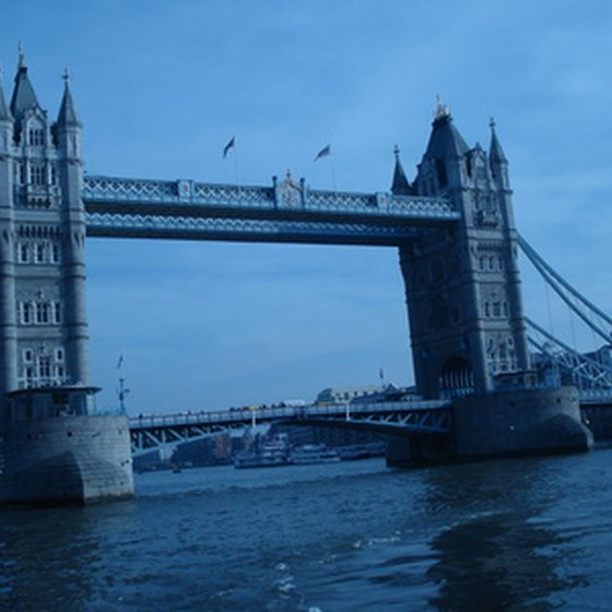 The Tower Bridge is one of many stops on the Harry Potter Walk.
