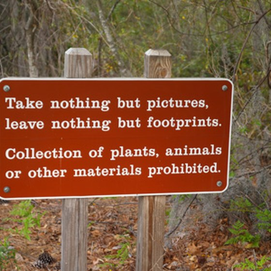 Visitors Must Abide By Certain Rules In State Parks.
