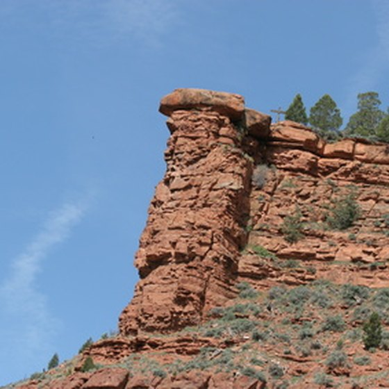 Canyons are typical features of the Panhandle.